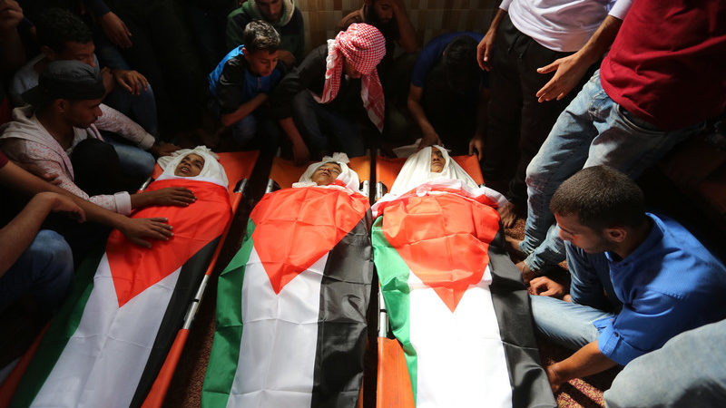 Israel Air Strike Kills Three Palestinian Minors In Gaza
