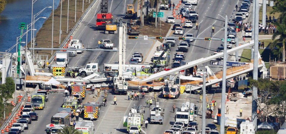 At Least Six People Dead After Bridge Collapsed Onto Busy Miami Highway